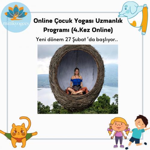 Minikyogees Çocuk Yogası 30 Saatlik Uzmanlık Programı