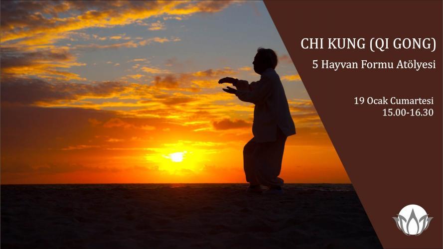 5 Hayvan Chi Kung (Qi Gong) Atölyesi