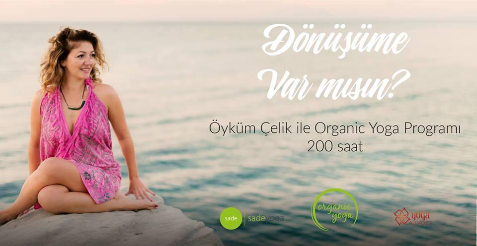 Öyküm Çelik ile Organic Yoga 200 Saat Yoga Uzmanlık Programı