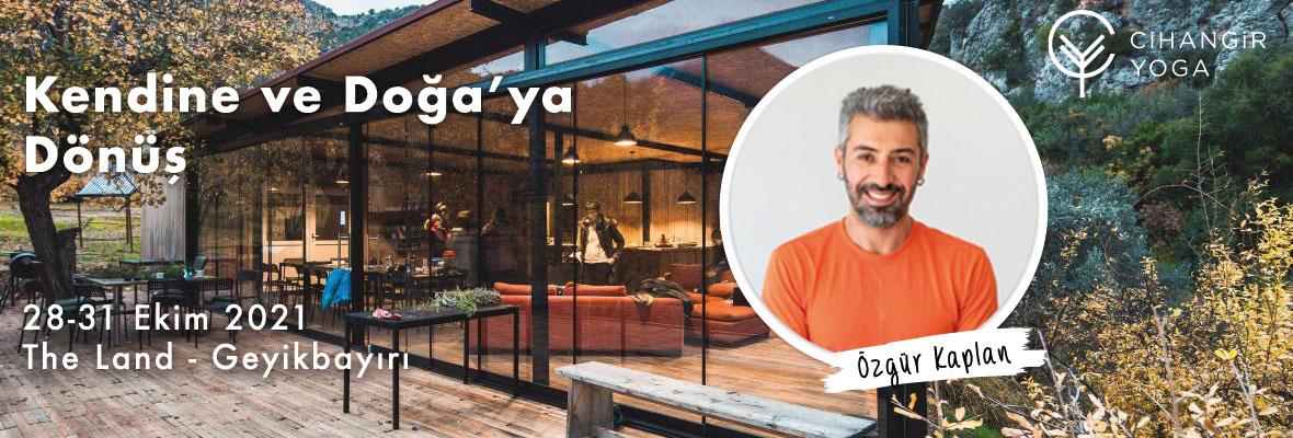 Özgür Kaplan ile Yoga Tatili