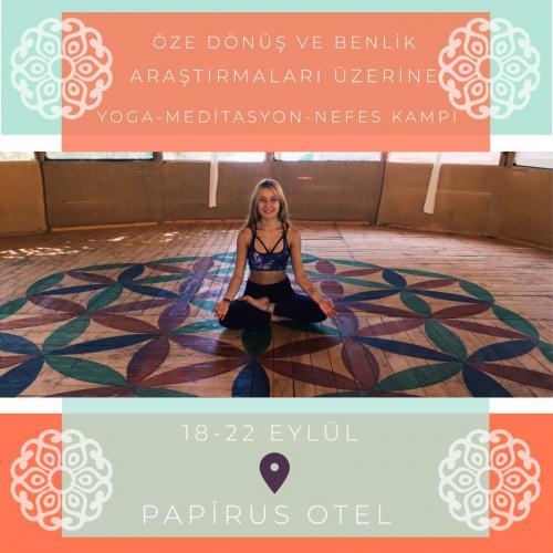 Olimpos Adrasan'da Öze Dönüş ve Benlik Araştırmaları Üzerine Yoga, Meditasyon ve Nefes Kampı