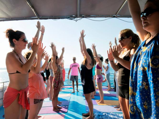 Pastoral Vadi Yılbaşı Yoga Kampı Faruk Kurtuluş