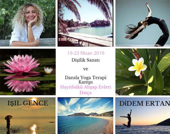 Dişilik Sanatı I. Seviye ve Dansla Yoga Terapi Kampı