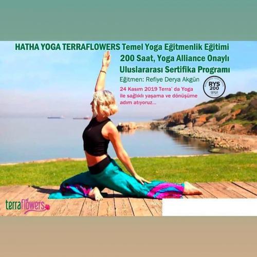 Hatha Yoga Terraflowers Temel Yoga Eğitmenlik Eğitimi