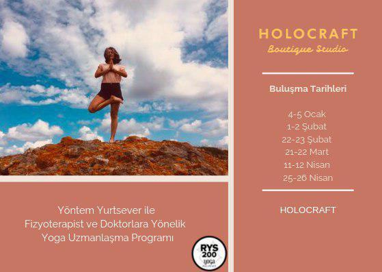 Yöntem Yurtsever ile Fizyoterapist ve Doktorlara Özel Yoga Eğitmenlik Eğitimi