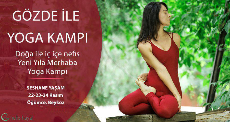 Gözde İle Yeni Yıla Merhaba Yoga Kampı