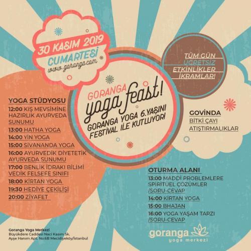 Goranga Yoga 6 Yaşında!
