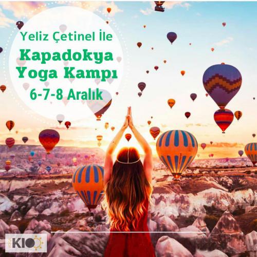 Yeliz Çetinel İle Kapadokya Yoga Kampı
