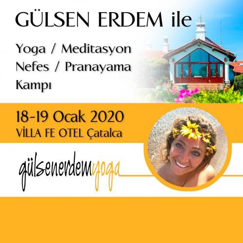 Yoga & Meditasyon & Nefes & Pranayama Kampı