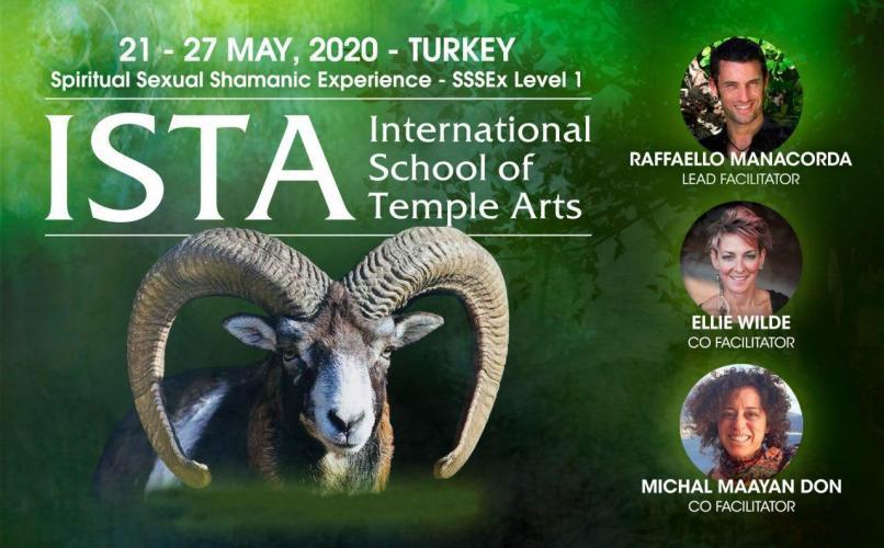 Ista Turkey 2020 - Level 1 - Spiritual Sexual Shamanic Experience