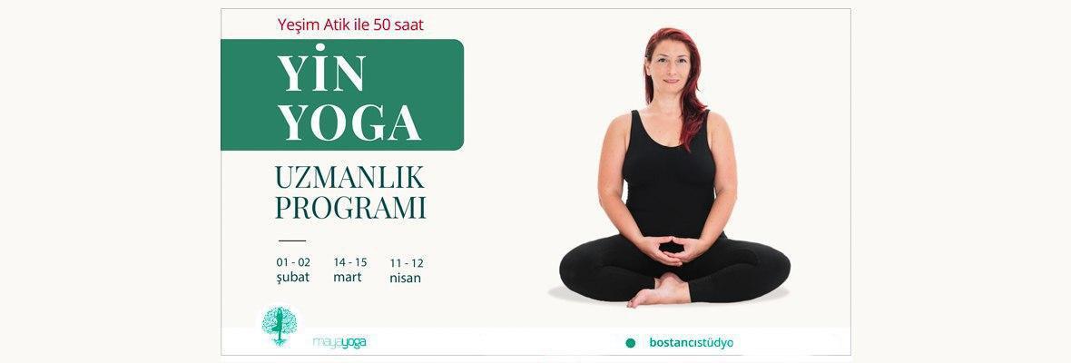 Yoga Alliance onaylı-Yeşim Atik ile 50 saat Yin Yoga Uzmanlık Programı