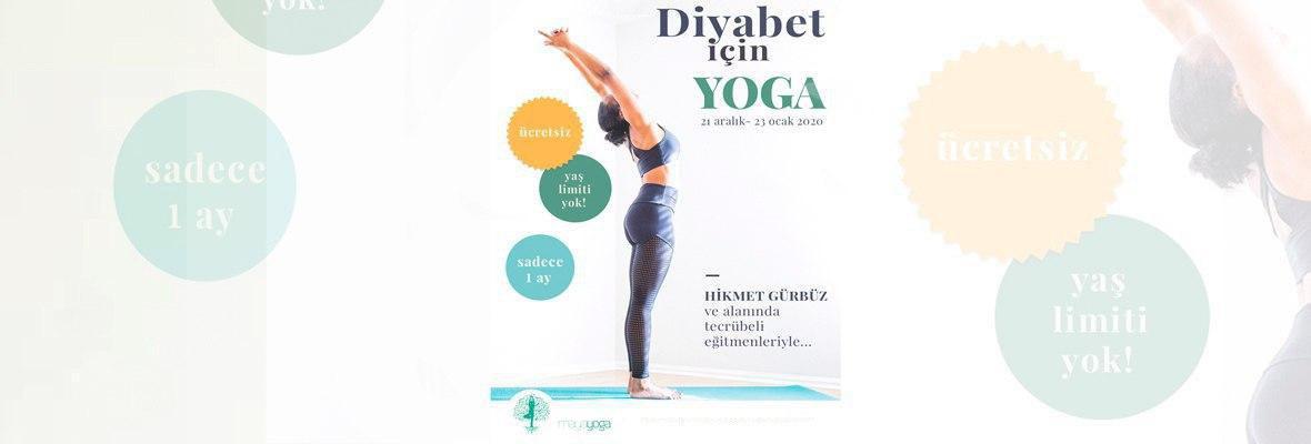 Hikmet Gürbüz ile Diyabet için Yoga dersleri