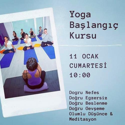 Haftasonu Yoga Başlangıç Kursu