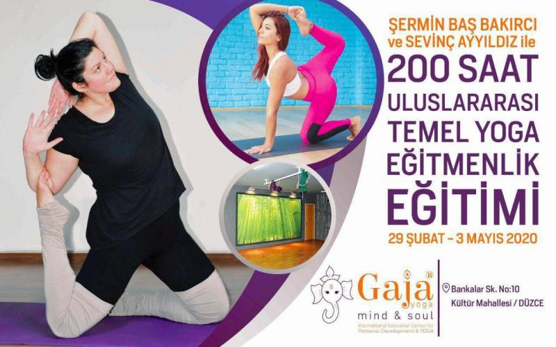 200 Saat Uluslararası Temel Yoga Eğitmenlik Eğitimi