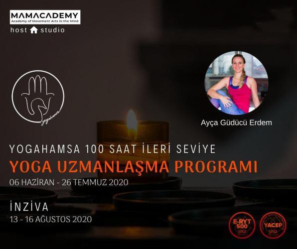 YogaHamsa 100 saat İleri Seviye Yoga Uzmanlaşma Programı