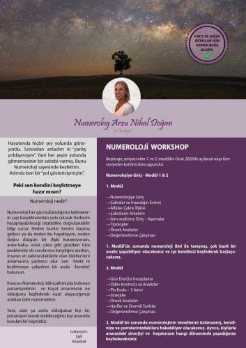 Numeroloji Workshop Arzu Nihal Doğan