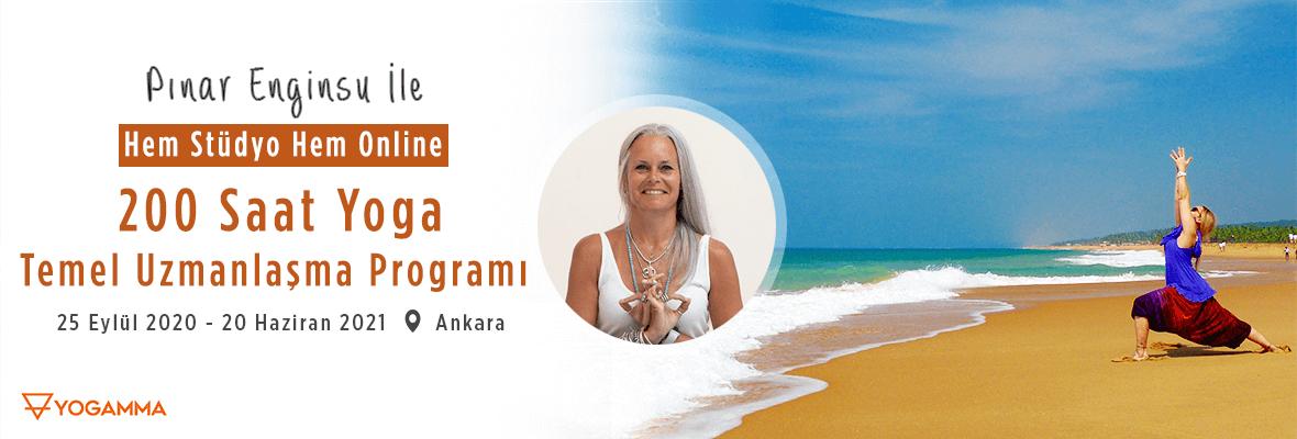 Pınar Enginsu ile 200 Saat Yogamma Temel Uzmanlaşma Programı Pınar Eng