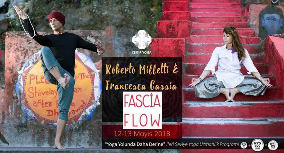 """Roberto Milletti & Francesca Cassia ile """"Fascia Flow"""" İleri Seviye"""