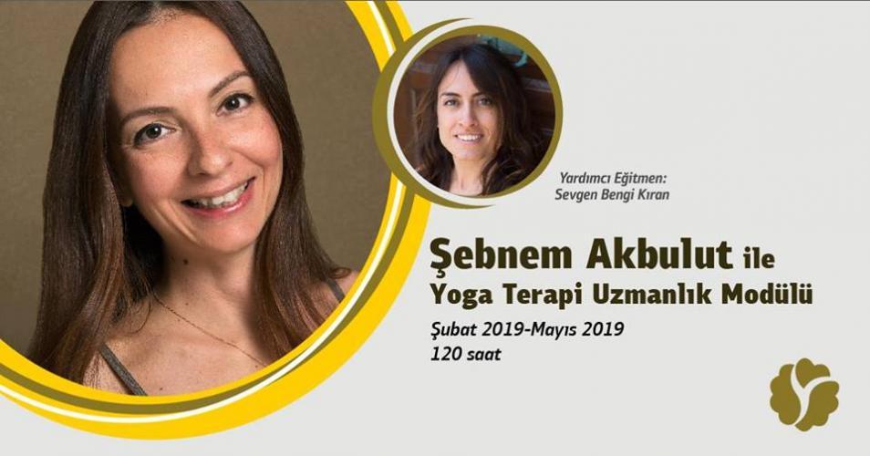 Şebnem Akbulut ile Yoga Terapi Uzmanlık Modülü