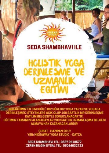 Seda Shambhavi ile Holistik Yoga Derinleşme ve Uzmanlaşma