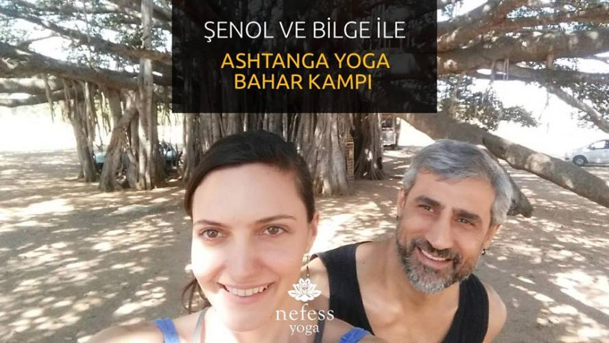 Şenol ve Bilge ile Ashtanga Yoga Bahar Kampı Şenol Topuz