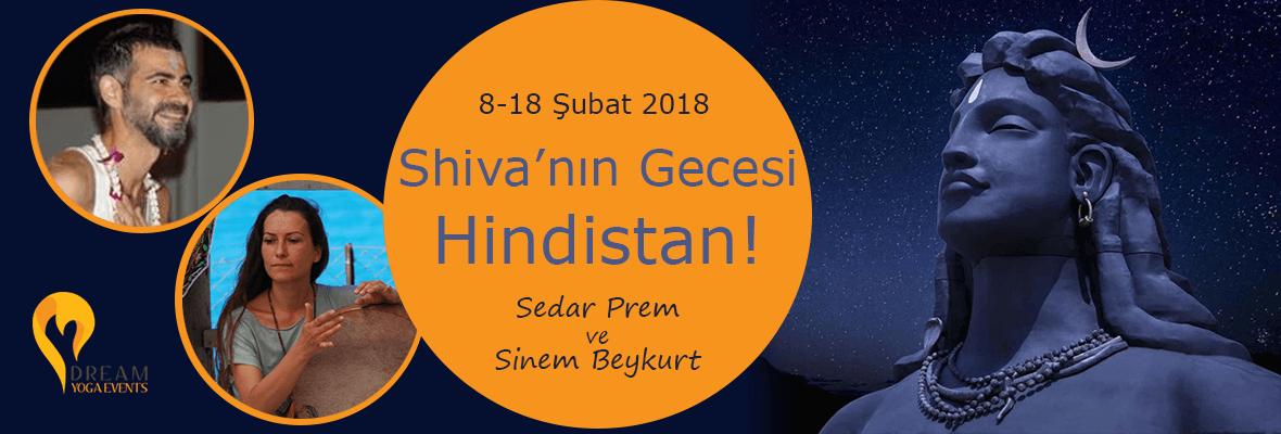 Shiva'nın Gecesi Hindistan'da! Serdar Prem