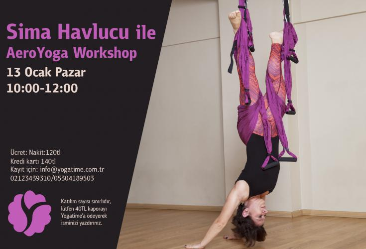 Sima Havlucu ile AeroYoga Workshop