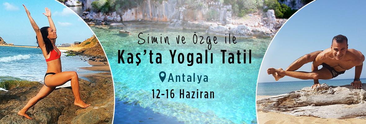 Simin ve Özge ile Kaş'ta Yogalı Tatil