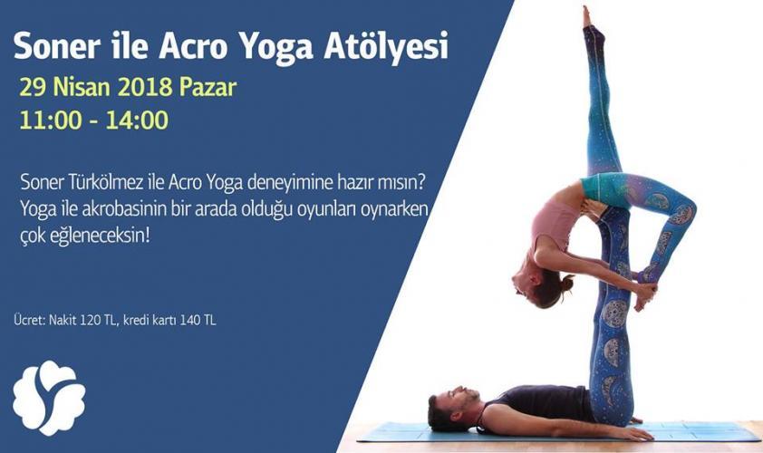 Soner ile Acro Yoga Atölyesi