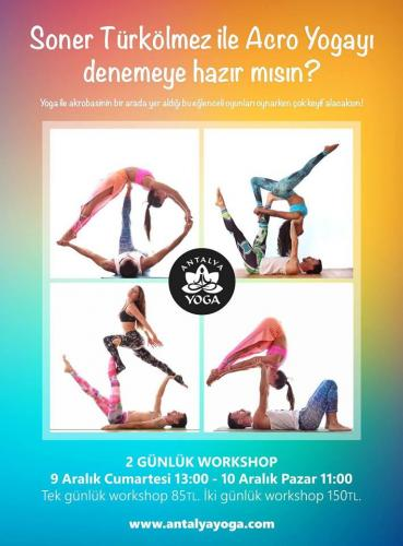 Soner Türkölmez ile Acro Yoga (Workshop)
