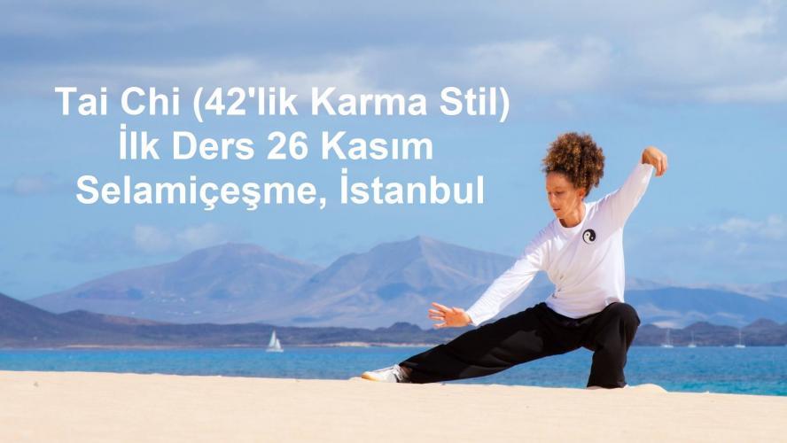 Tai Chi (42'lik Karma Stil) İlk Ders