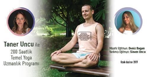 Taner Uncu ile 200 Saatlik Temel Yoga Uzmanlık Programı