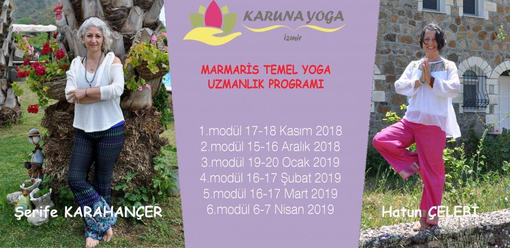 Temel Yoga Uzmanlık Programı - Marmaris