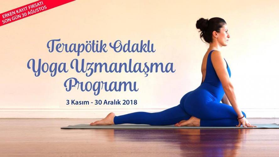 Terapötik Odaklı Yoga Uzmanlaşma Programı - Ankara