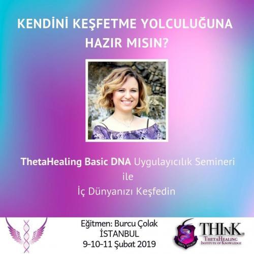 ThetaHealing Basic DNA Semineri Burcu Çolak