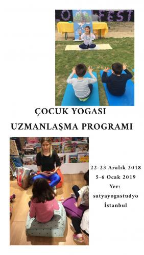 Çocuk Yogası Uzmanlaşma Programı Günce Dere