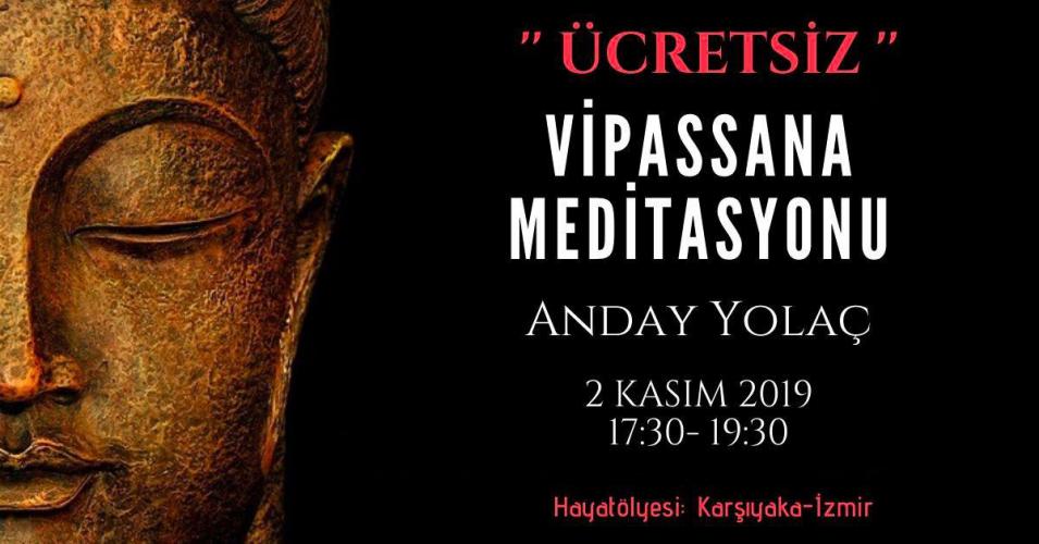 Ücretsiz Vipassana Meditasyonu