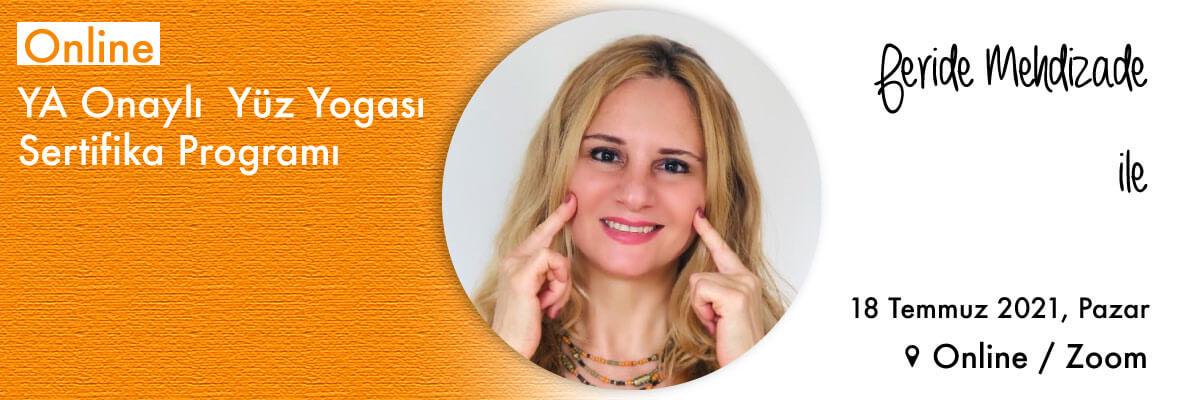 Feride Mehdizade ile YA Onaylı Online Yüz Yogası Sertifika Programı