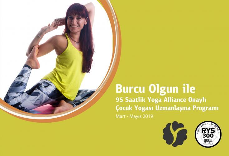95 Saatlik Yoga Alliance Onaylı Çocuk Yogası Uzmanlaşma Programı