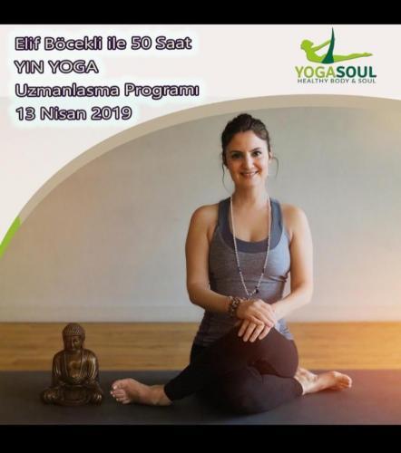 Elif Böcekli ile 50 saat Yin Yoga Uzmanlaşma Programı
