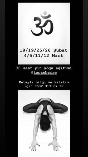 30 Saat Yin Yoga Eğitimi