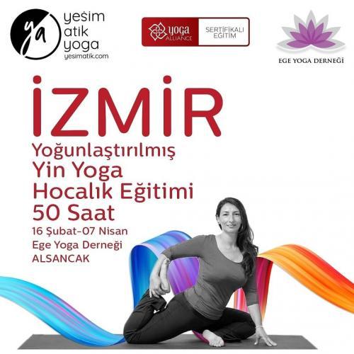 Yeşim Atik ile İzmir Yoğunlaştırılmış Yin Yoga Hocalık Eğitimi 50 Saat