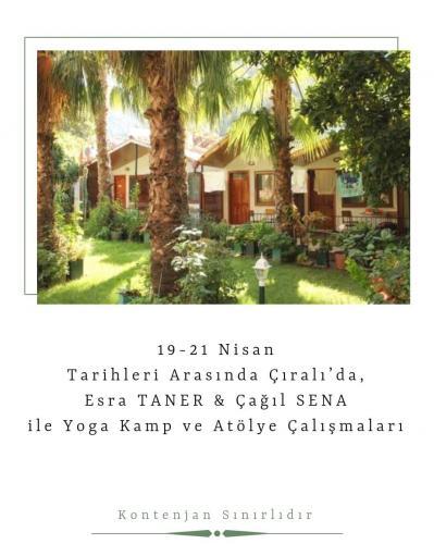 Esra Taner & Çağıl Sena ile Yoga Kamp ve Atölye Çalışmaları