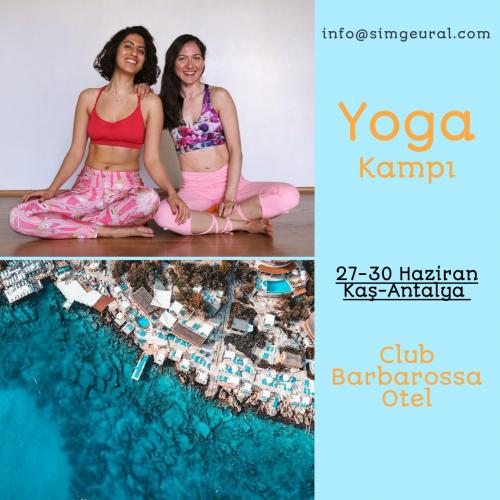 Simge ve Naghmeh ile Yoga Kampı