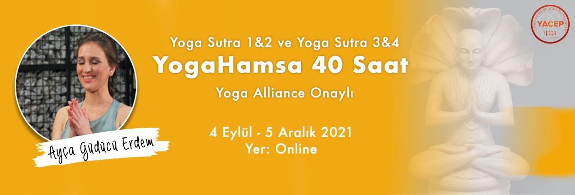 YogaSutra Modül 1 (Bölüm 1&2) / YogaHamsa 40 saat Yoga Alliance onaylı
