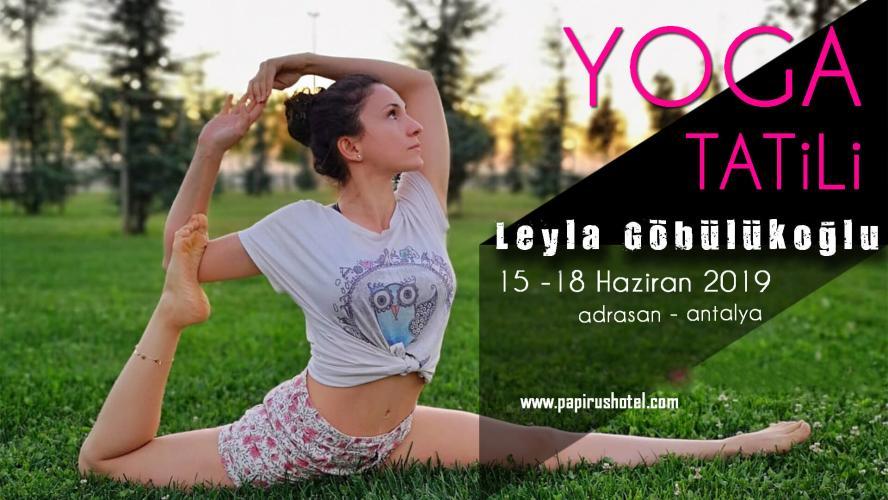 Leyla Göbülükoğlu ile Yoga Tatili