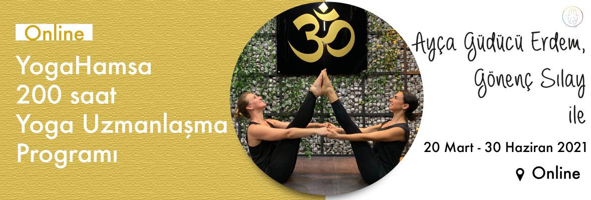 YogaHamsa 200 saat Yoga Uzmanlaşma Programı
