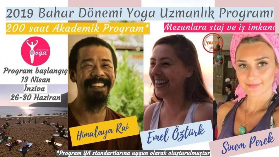 Bahar Dönemi Temel Yoga Uzmanlaşma Programı