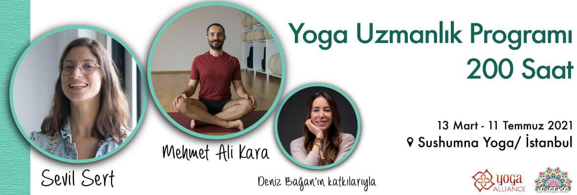 Yoga Uzmanlık Programı 200 Saat Deniz Bağan