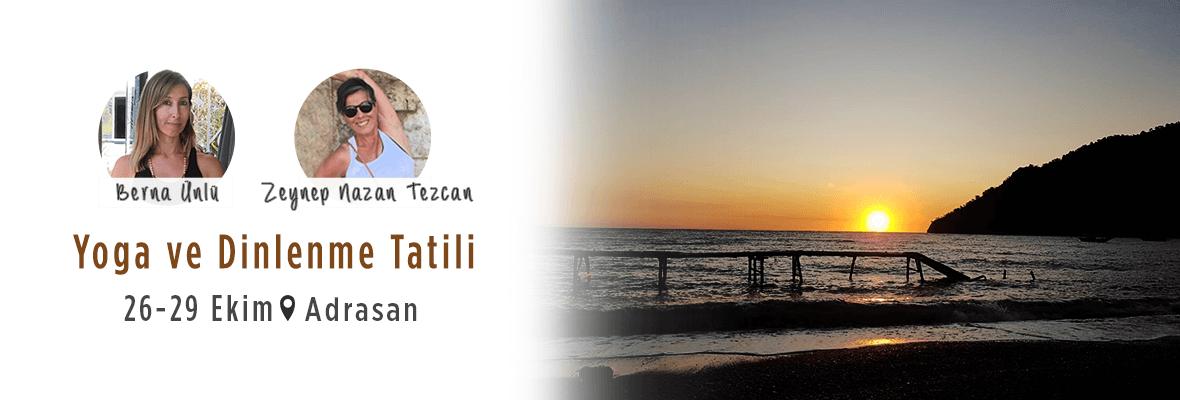 Yoga ve Dinlenme Tatili
